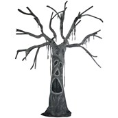 Standing Tree with Open Mouth