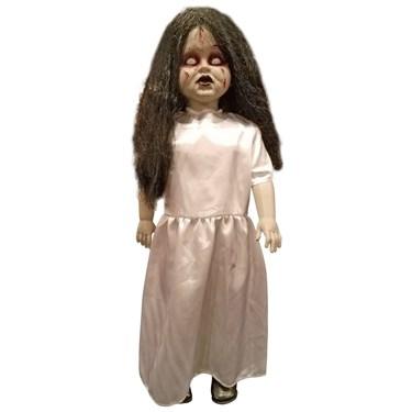 Standing Zombie Girl Prop