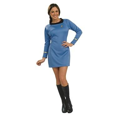 Star Trek Classic Blue Dress Deluxe Adult Costume