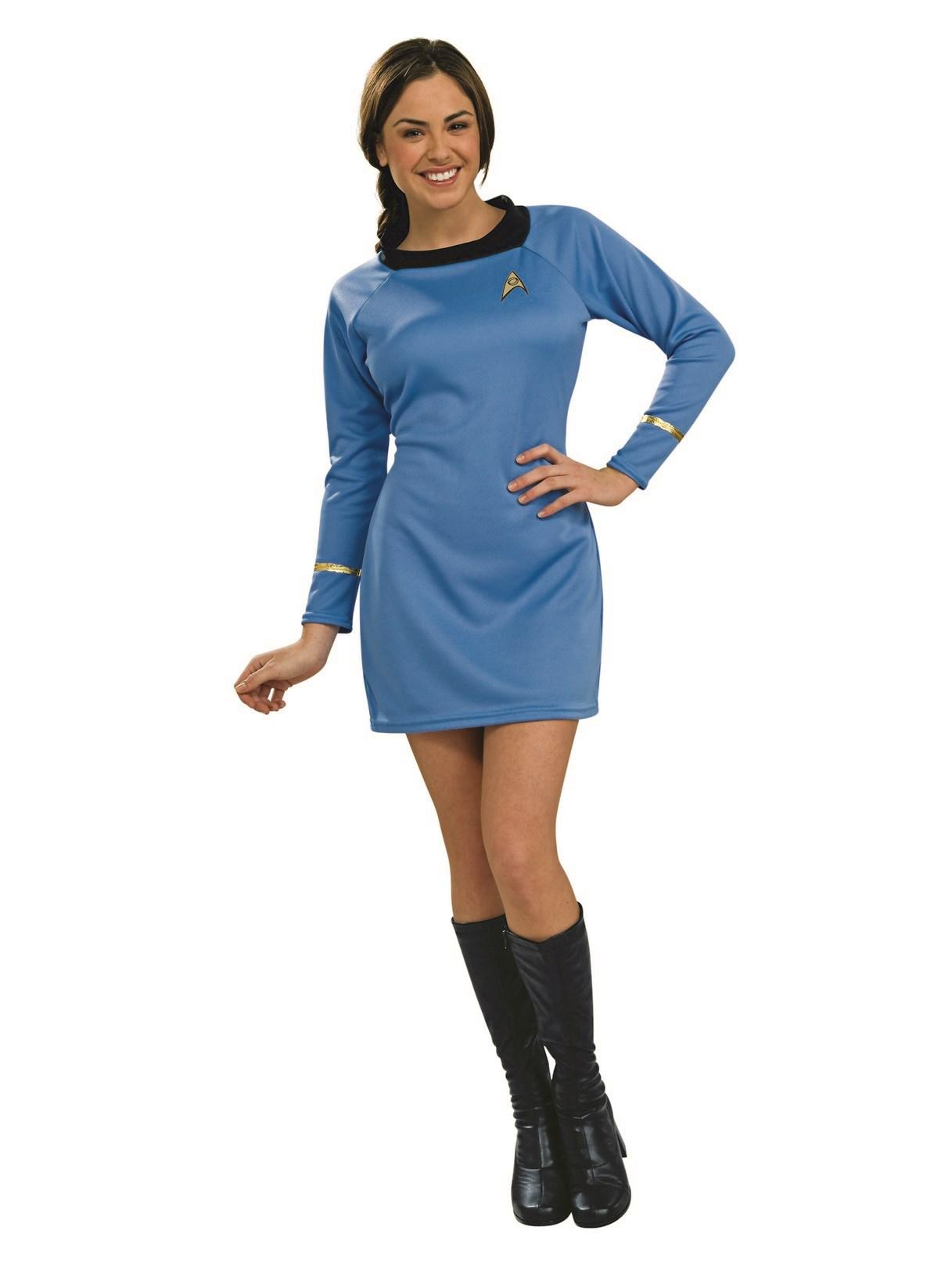 Star Trek Classic Blue Dress Deluxe Adult Costume  BuyCostumes.com