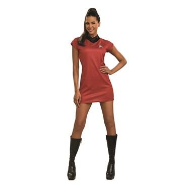 Star Trek Movie Red Dress Deluxe Adult Costume