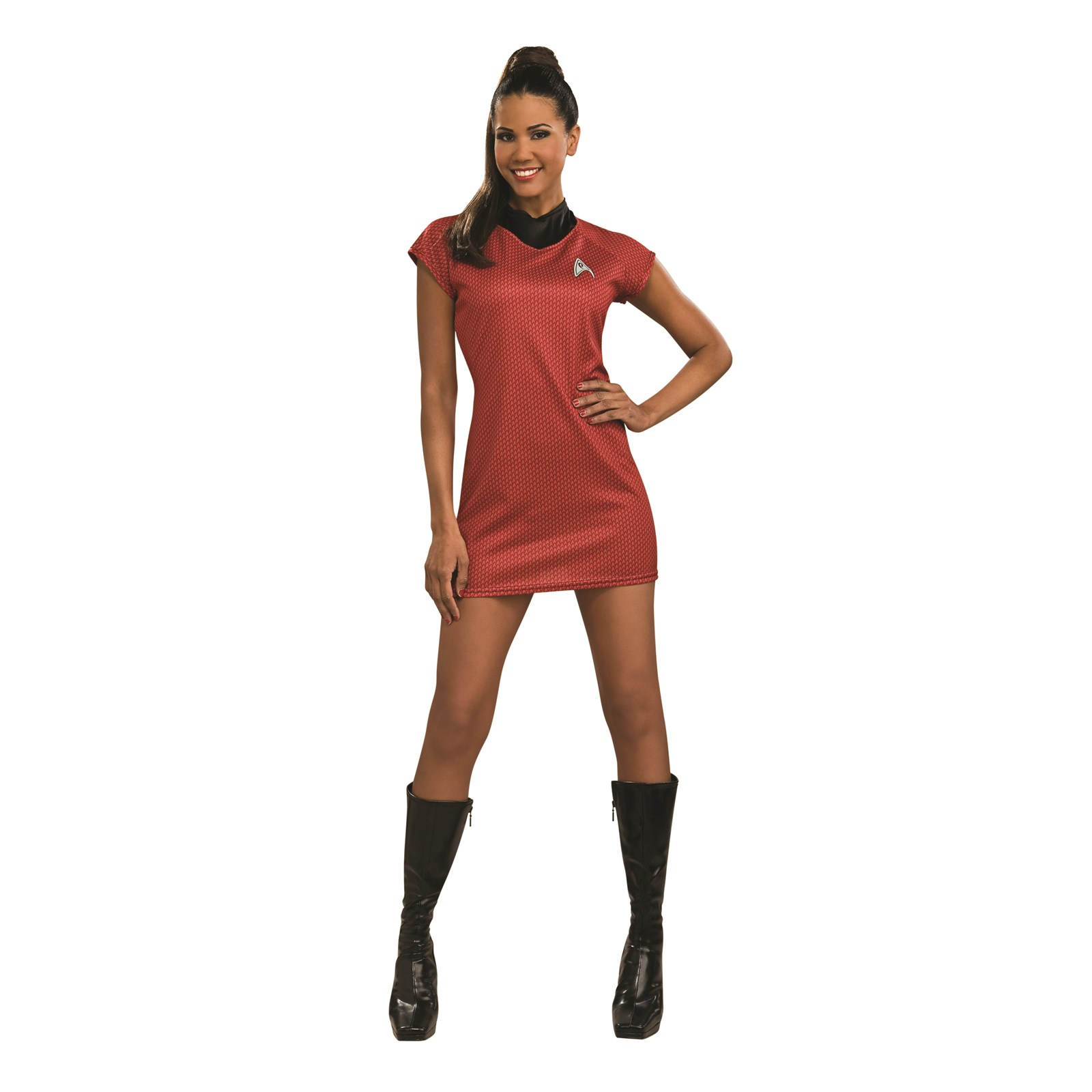 Star Trek Movie Red Dress Deluxe Adult Costume | BuyCostumes.com