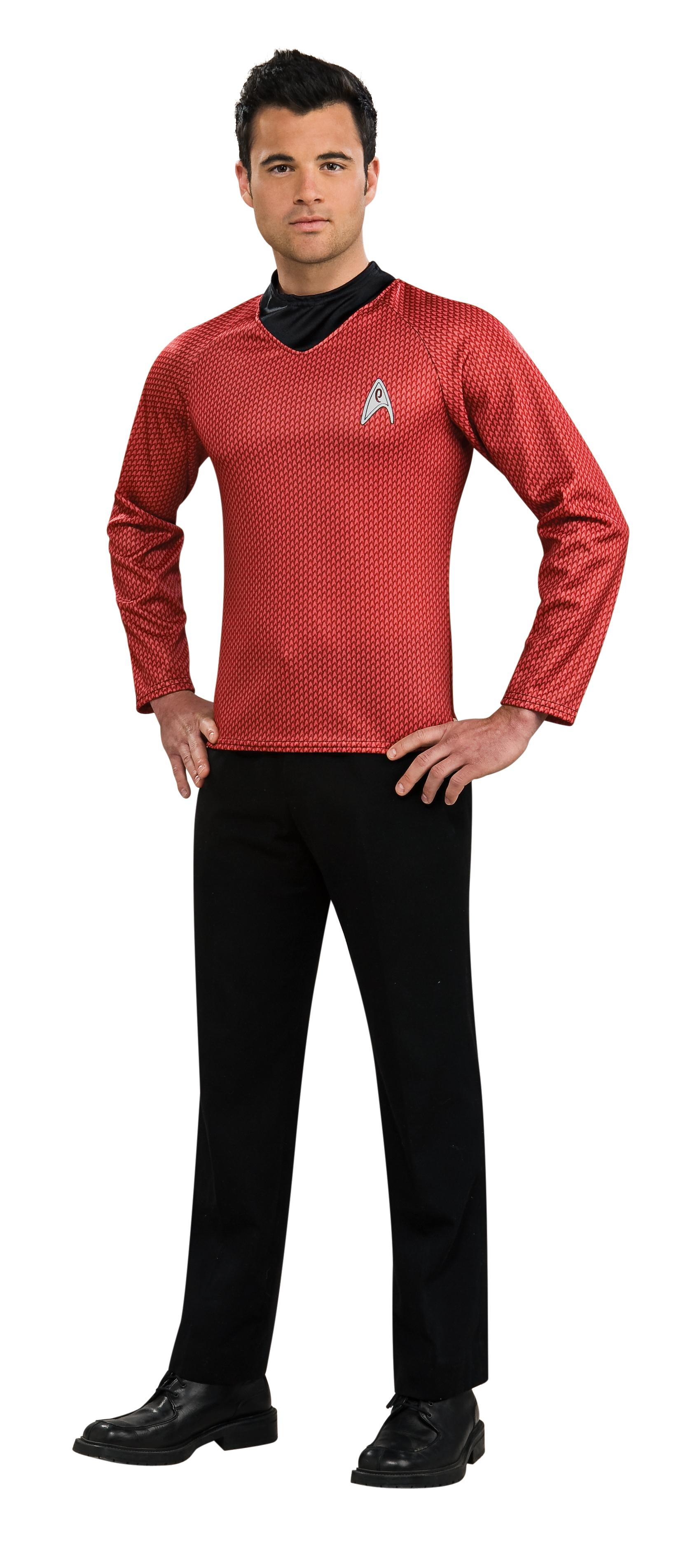 Star Trek Movie Uniform Star Trek Movie Red Shirt