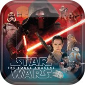 Star Wars 7 The Force Awakens Dinner Plates