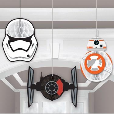 Star Wars 7 The Force Awakens Honeycomb Decoration