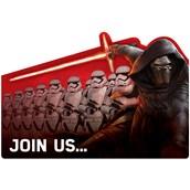 Star Wars 7 The Force Awakens Invitations