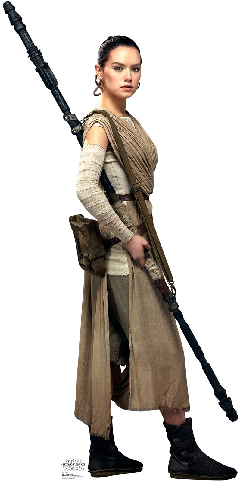 Star Wars 7 The Force Awakens Rey Standup - 6 Tall