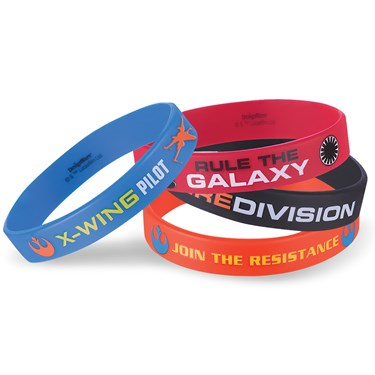 Star Wars 7 The Force Awakens Rubber Bracelets