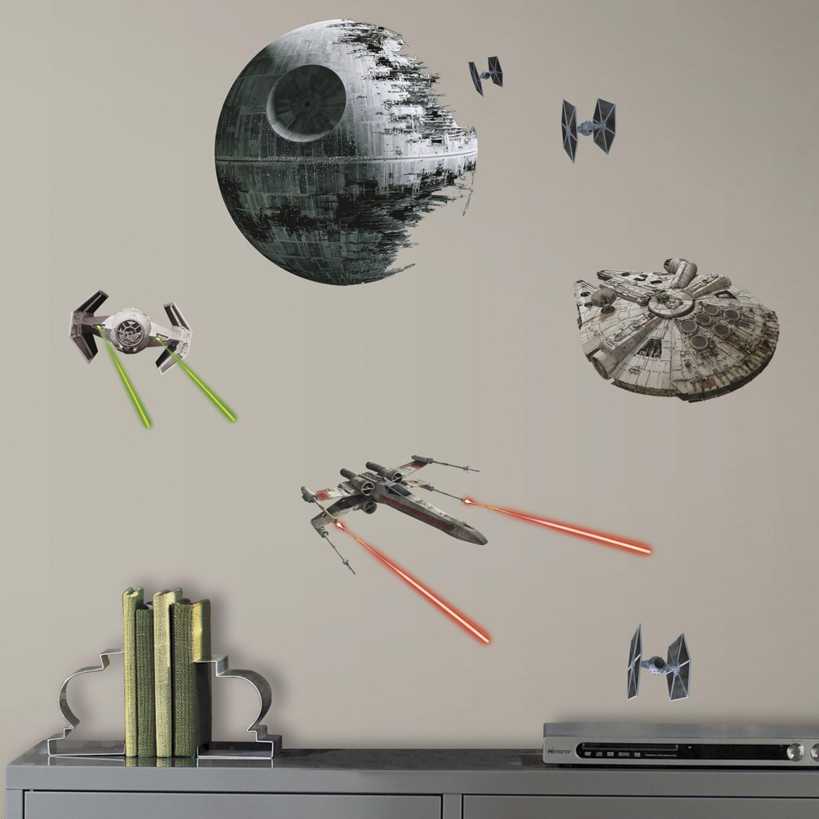 star wars 7 the force awakens spaceships peel and stick wall star wars 7 the force awakens spaceships peel and stick wall decals
