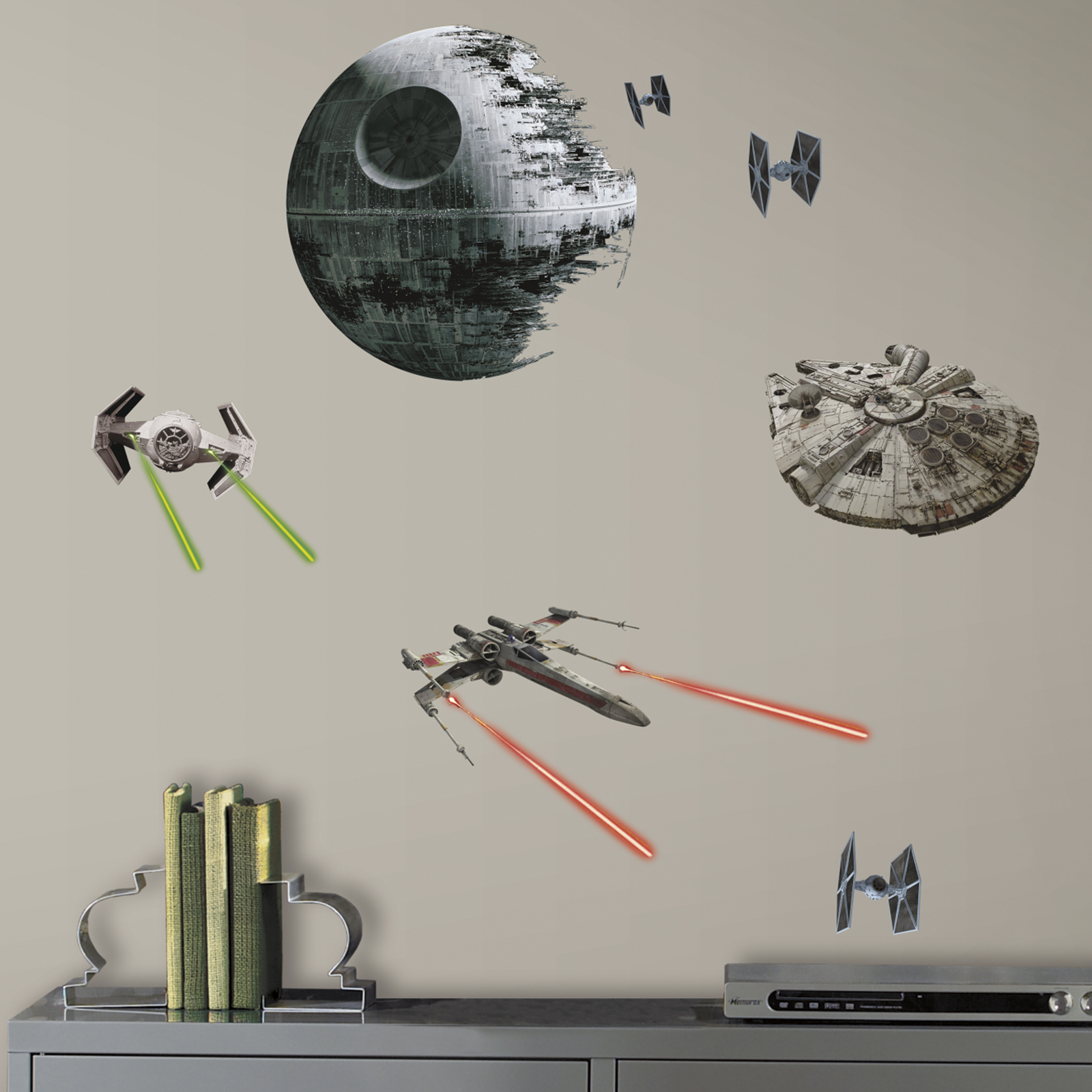Star Wars 7 The Force Awakens Spaceships Peel And Stick Wall Decals