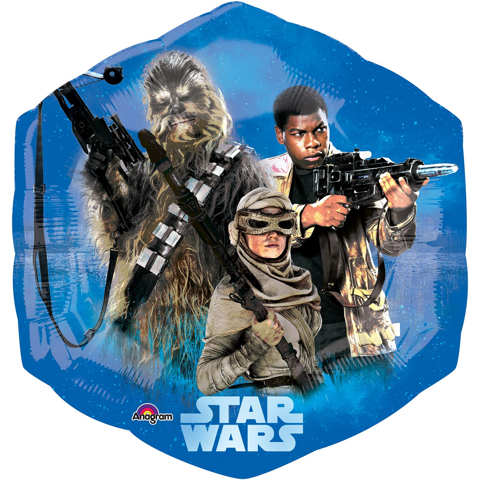 Star Wars 7 The Force Awakens Supershape Foil Balloon