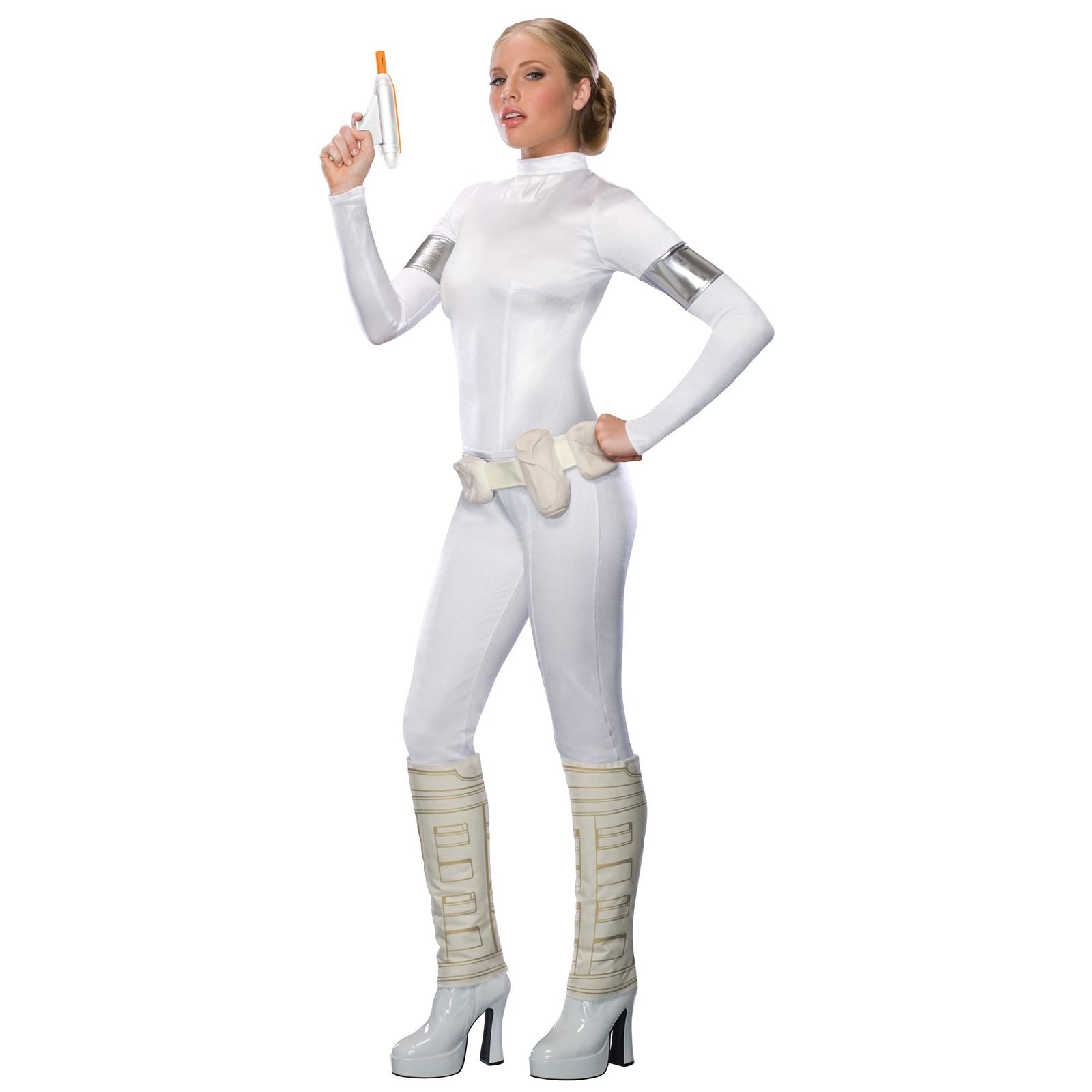 Star Wars Amidala Jumpsuit Adult Costume   BuyCostumes.com