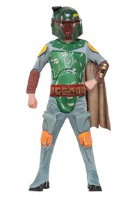 Click Here to buy Star Wars: Boba Fett Kids Costume from BuyCostumes