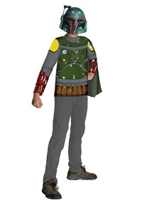 Click Here to buy Star Wars Boba Fett Kids Costume Kit from BuyCostumes