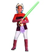 Star Wars Clone Wars - Ahsoka Deluxe Child Sale Size Large