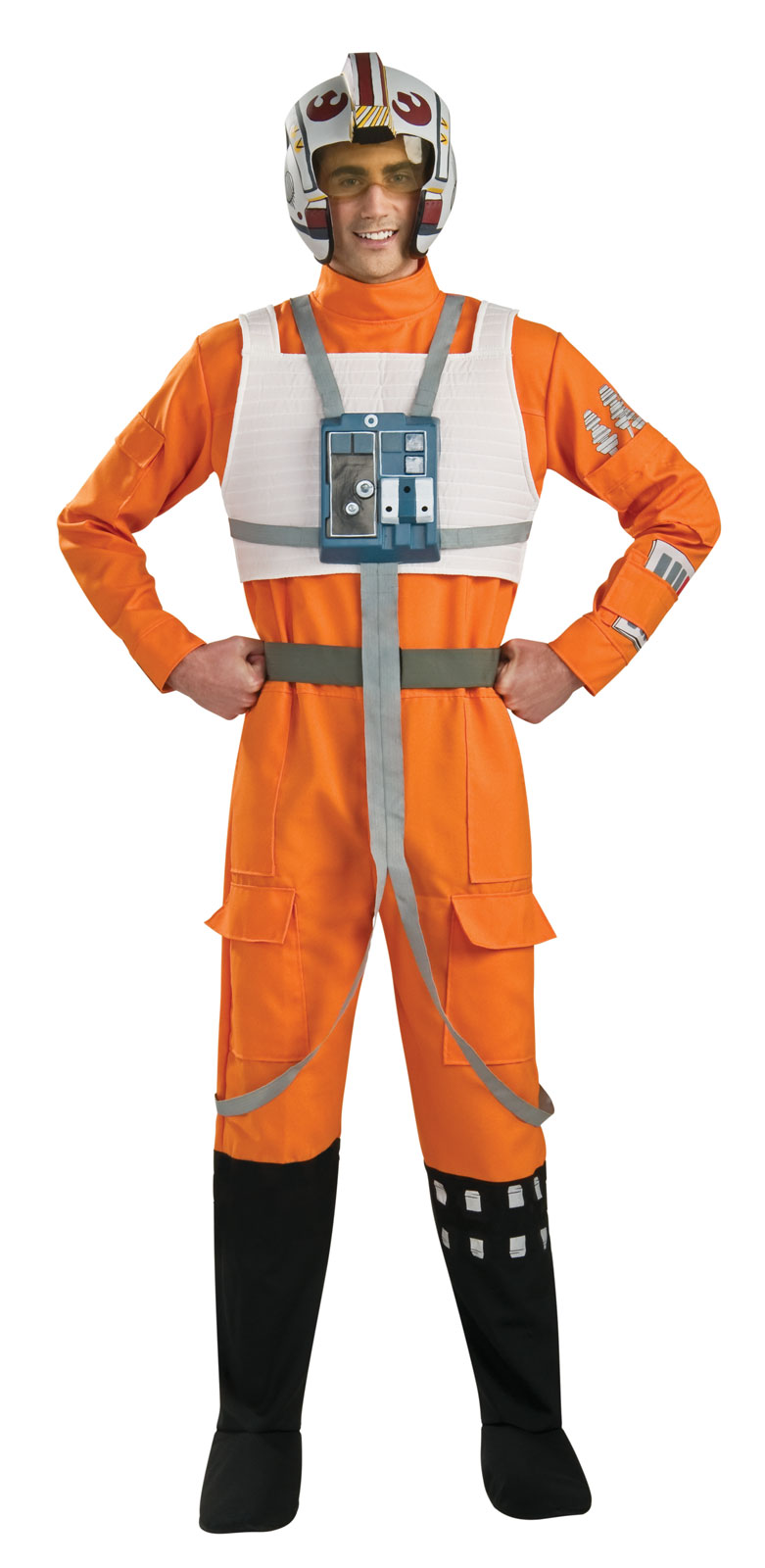 star wars clone wars x wing fighter pilot adult buycostumescom - Clone Wars Halloween Costumes