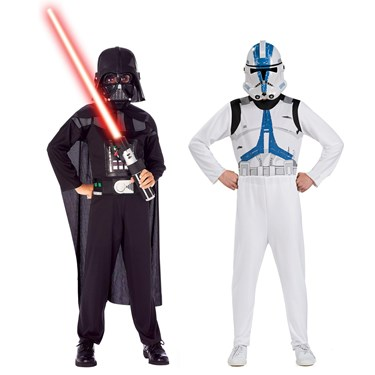 Star Wars - Darth Vader & Clone Trooper Dress Up Set