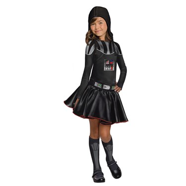 Star Wars Darth Vader Girls Child Costume