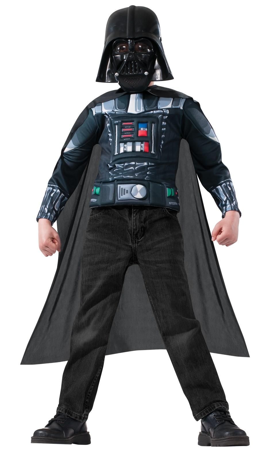 star wars darth vader kids muscle chest shirt kit. Black Bedroom Furniture Sets. Home Design Ideas