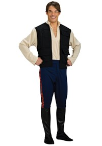 Click Here to buy Star Wars Deluxe Han Solo Adult Costume from BuyCostumes