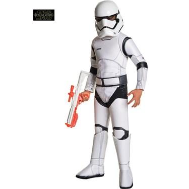 Star Wars Ep VII Super Deluxe Stormtrooper Child Costume