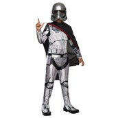 Star Wars Episode 7 - Girls Captain Phasma Classic Costume