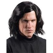 Star Wars Episode VIII - The Last Jedi Adult Kylo Ren Wig with Scar Tattoo
