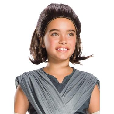 Star Wars Episode VIII - The Last Jedi Childrens Rey Wig