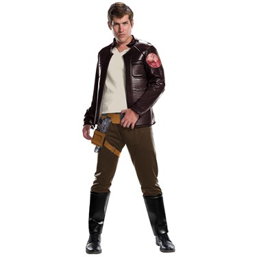 Star Wars Episode VIII - The Last Jedi Deluxe Men's Poe Dameron Costume