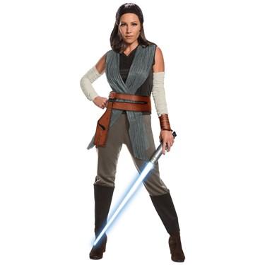 Star Wars Episode VIII - The Last Jedi Deluxe Women's Rey Costume