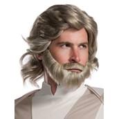 Star Wars Episode VIII - The Last Jedi Luke Skywalker Wig and Beard Set