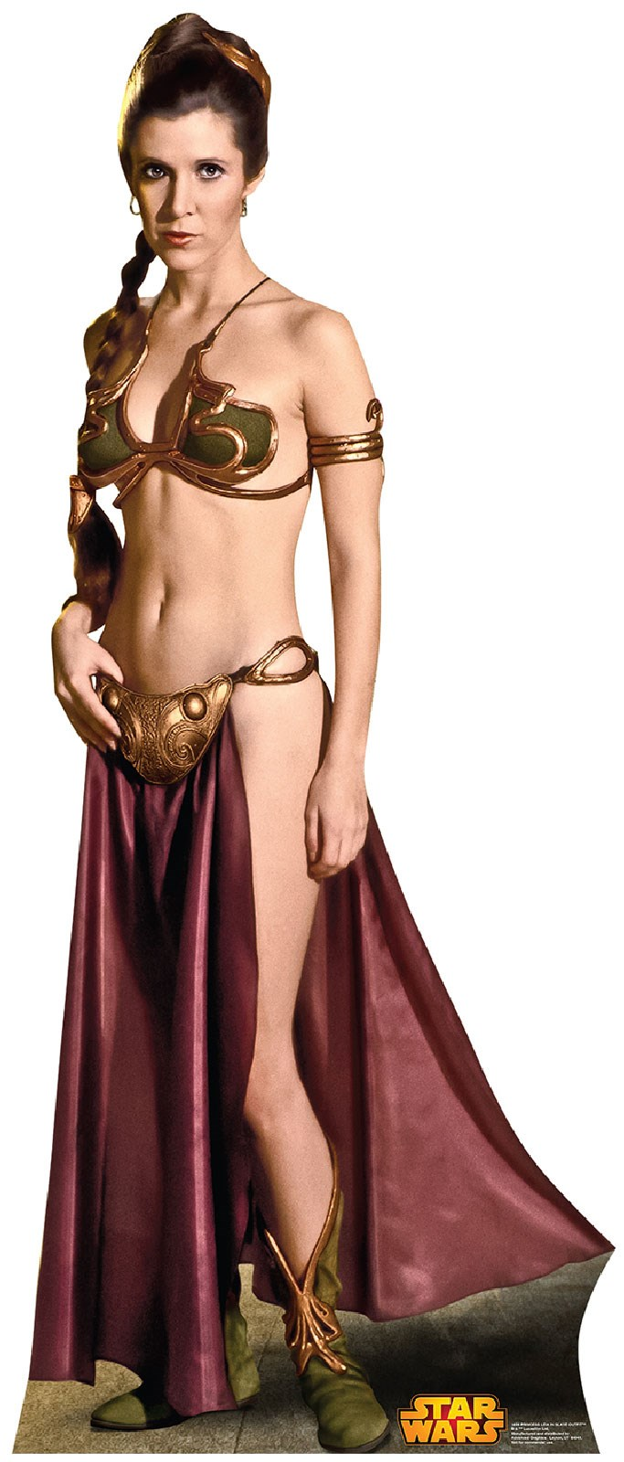 Star Wars Princess Leia Cardboard Stand Up 5.4