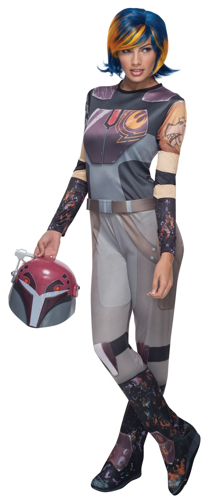 Star Wars Rebels Deluxe Sabine Costume For Adults   BuyCostumes.com
