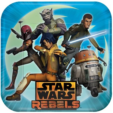 Star Wars Rebels Dinner Plates (8)