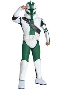 Click Here to buy Star Wars The Clone Wars - Clone Trooper Commander from BuyCostumes