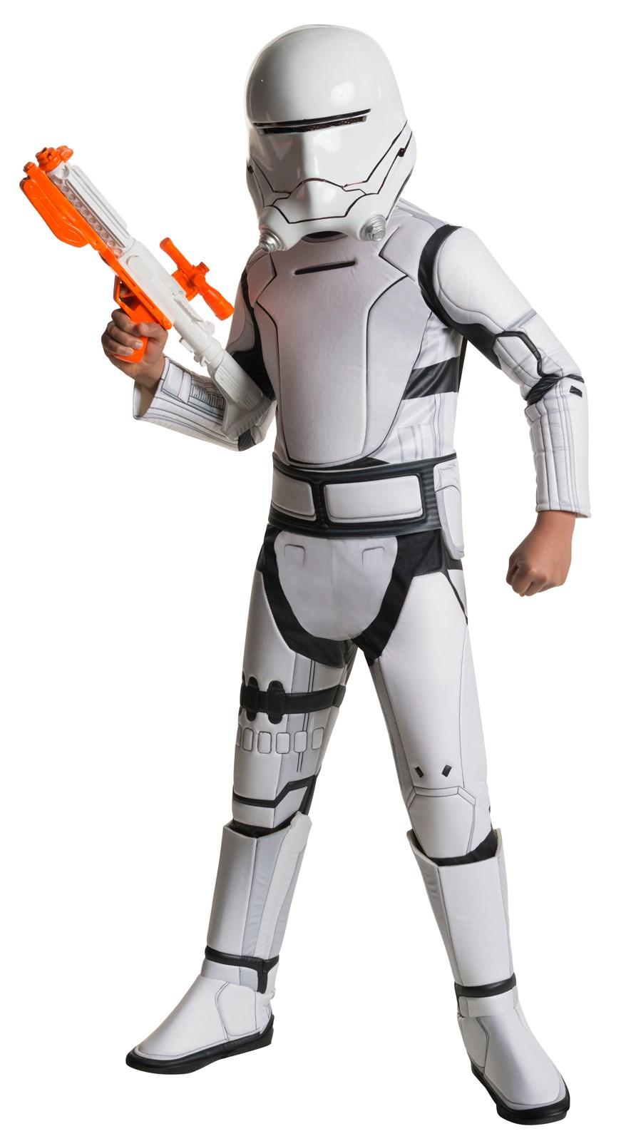 star wars the force awakens boys flametrooper super deluxe costume