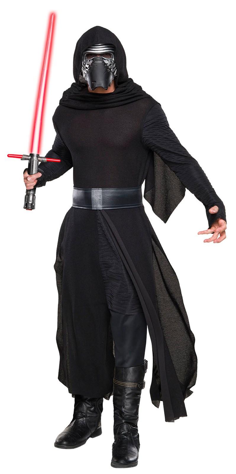 Star Wars: The Force Awakens - Mens Kylo Ren Deluxe Costume ...