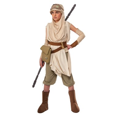 Star Wars The Force Awakens Rey Premium Child Costume