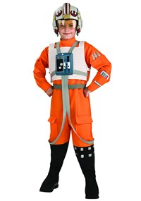 Click Here to buy Star Wars X-Wing Fighter Pilot Kids Costume from BuyCostumes