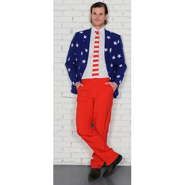 Stars and Stripes Opposuits Adult Costume