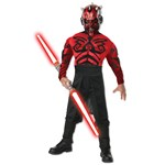 Stars Wars Deluxe Muscle Chest Darth Maul Child Costume