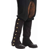 Steampunk Male Spats Black Adult