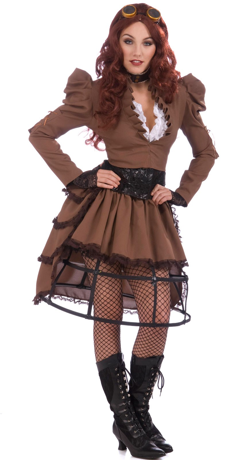 steampunk vicky adult costume - Halloween Costumes Victorian