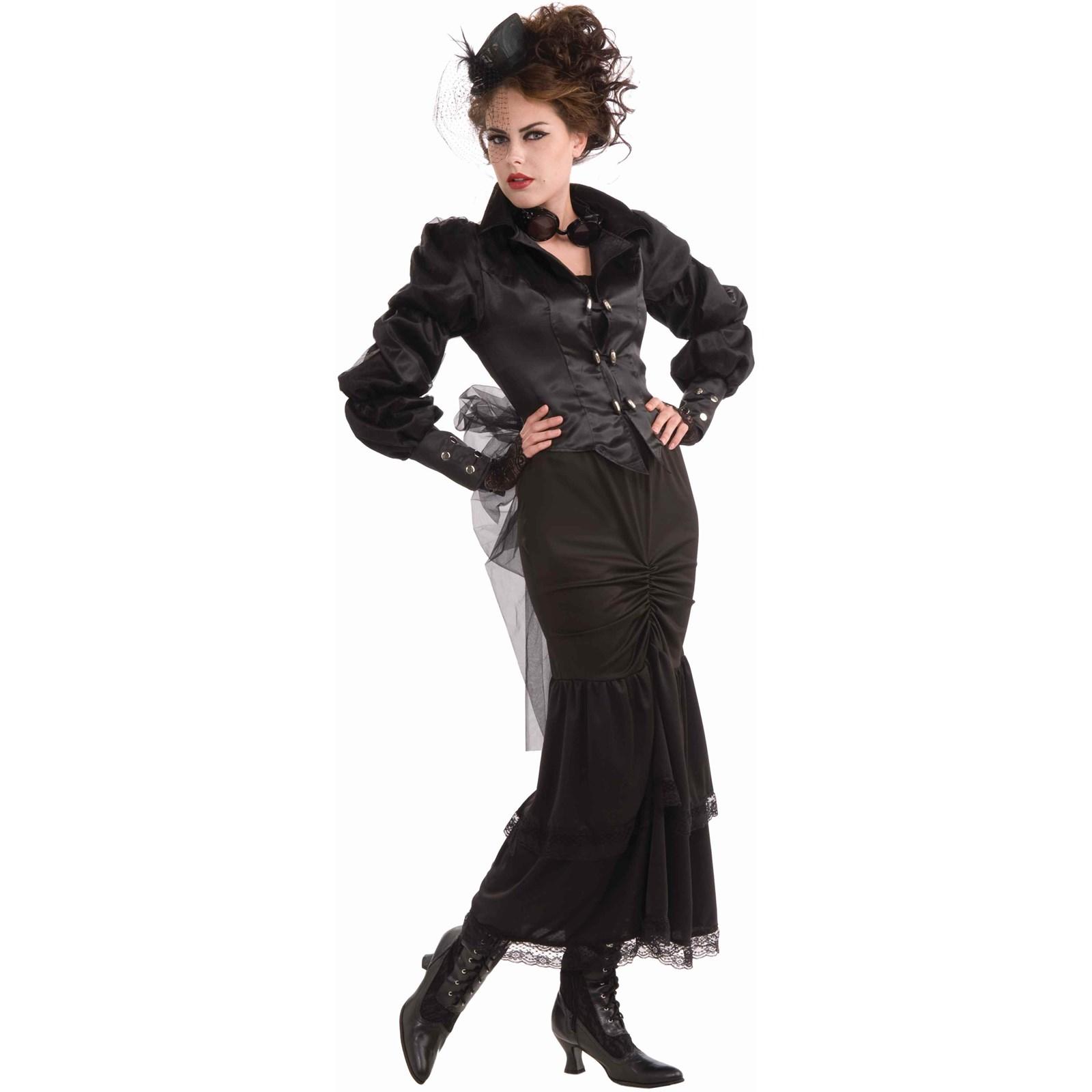 steampunk victorian lady adult costume. Black Bedroom Furniture Sets. Home Design Ideas