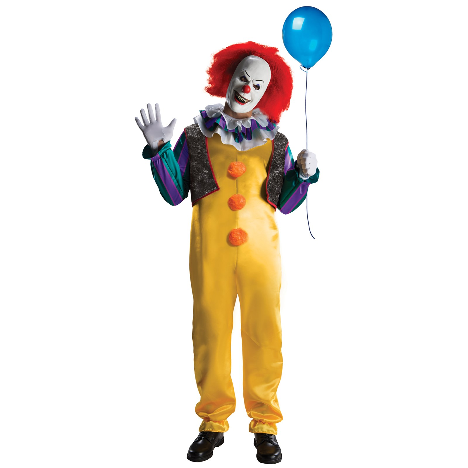 IT - Deluxe Pennywise Clown Costume | BuyCostumes.com