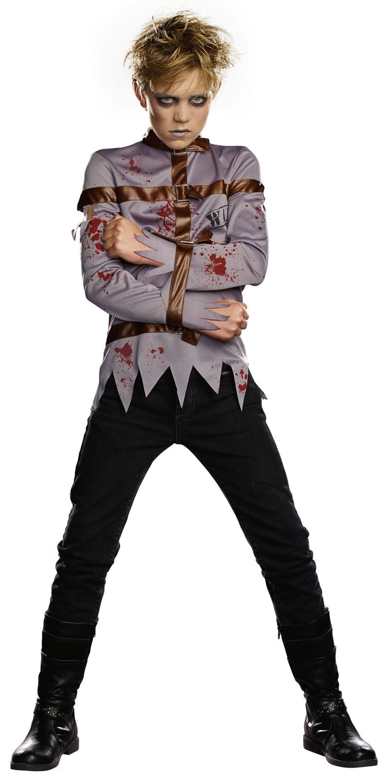 Straightjacket Zombie Kids Costume | BuyCostumes.com