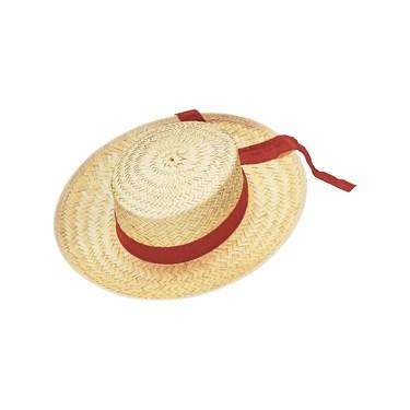 Straw Gondolier Hat Adult