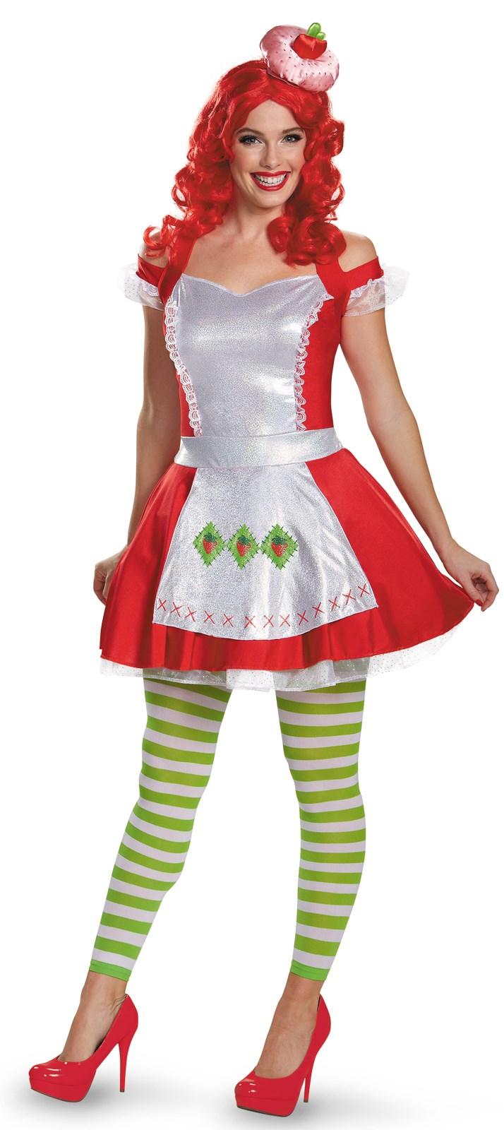 Strawberry Shortcake Costume For Women