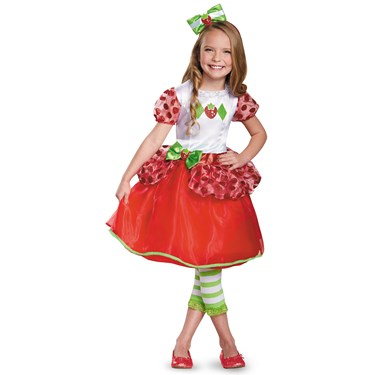 Strawberry Shortcake Deluxe Costume For Toddlers
