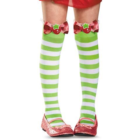 Strawberry Shortcake Girls Knee Highs